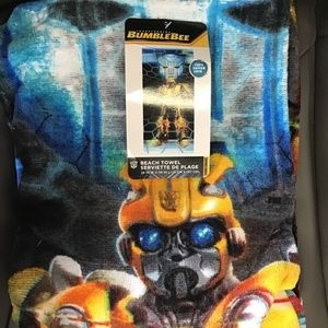 Transformers Bumble Bee Beach towel